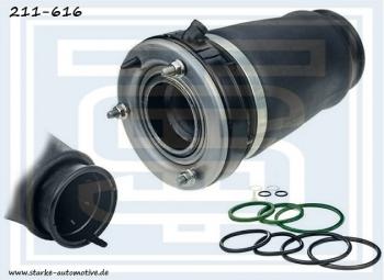 Передний правый пневмобаллон Starke для BMW X5 E53 (Starke 211-616)