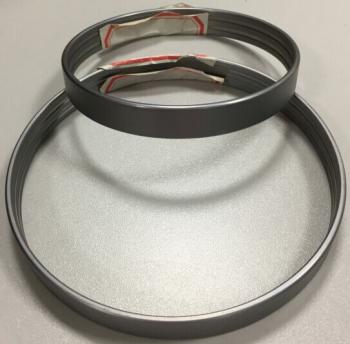 Резиновый рукав с опрессовочными кольцами для переднего пневмобаллона GL X164